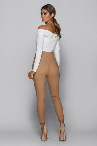 Mia Pants in Camel