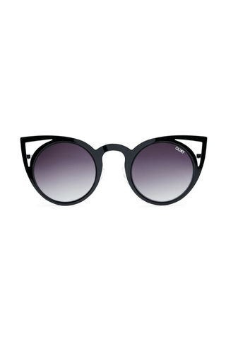 Quay x Desi High Key Sunglasses in Gunmetal/Rose - QUAY AUSTRALIA