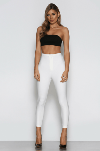 Marchesa Pants in White