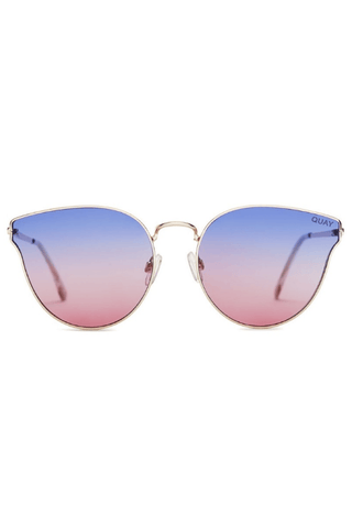 All My Love Sunglasses in Gold/Purple/Pink - QUAY AUSTRALIA