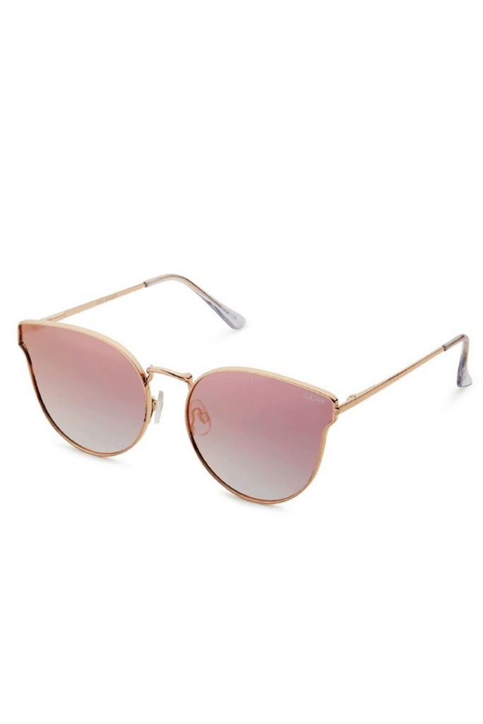 All My Love Sunglasses in Rose Gold/Pink