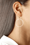 Colette Hoop Earrings in Rose Gold - Jolie & Deen