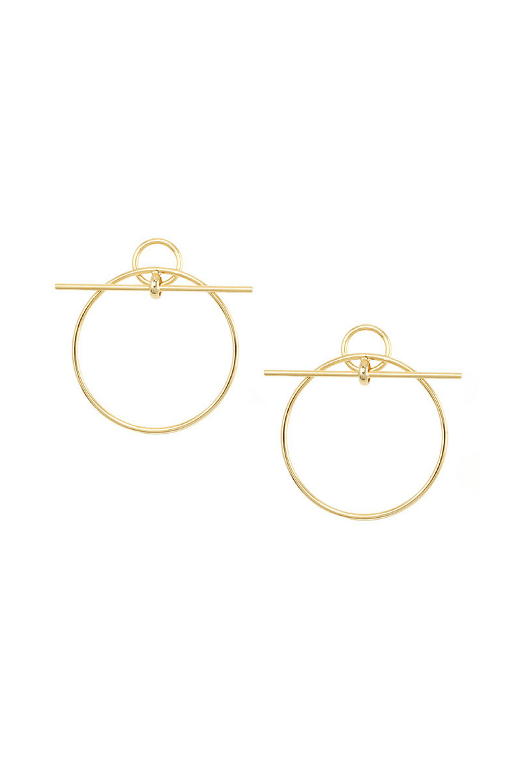 Suzanne Hoop Earrings - Jolie & Deen