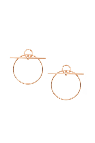 Suzanne Hoop Earrings