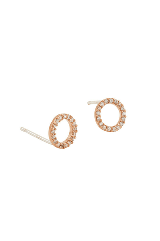Candice Swarovski Stud Earrings - Jolie & Deen