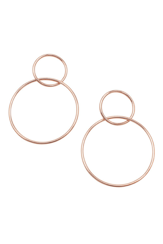 Marilyn Hoop Earrings - Jolie & Deen