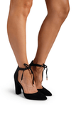 Ebony Heels in Black - Billini Shoes