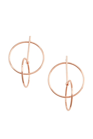Maya Hoop Earrings - Jolie & Deen