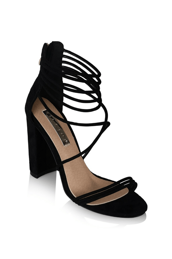 Gabbi Heels in Black - Billini Shoes