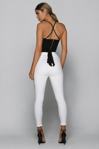Good Impression Pants in White