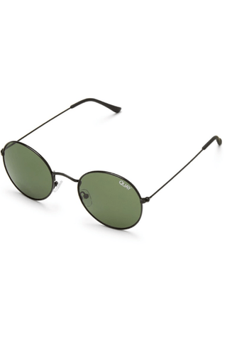 Mod Star Sunglasses in Black/Green - QUAY AUSTRALIA