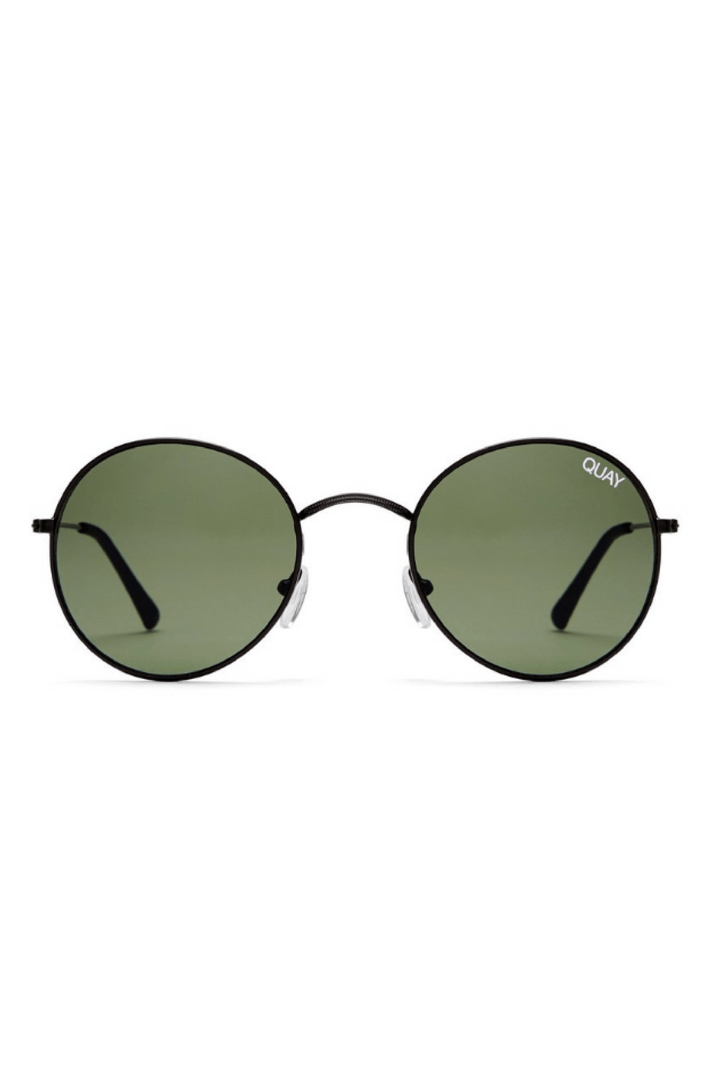 Mod Star Sunglasses in Black/Green