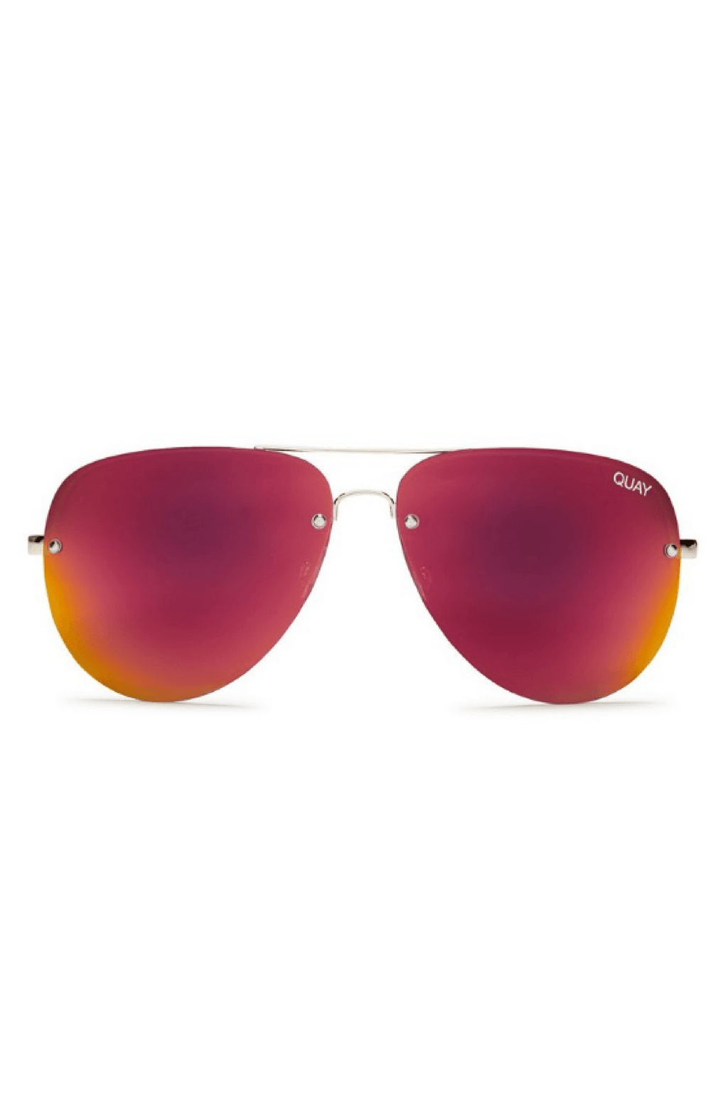 Muse Sunglasses in Red Mirror
