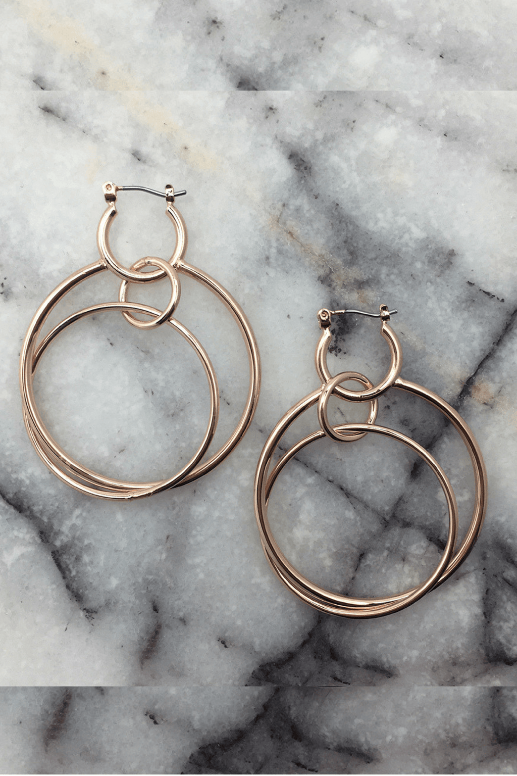 Ana Hoop Earrings - Jolie & Deen