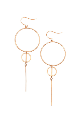 Brooklyn Hoop Earrings - Jolie & Deen