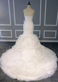 Gorgeous Mermaid Bridal Gown Cheap Bridal Gown #W043