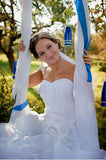 Sweetheart Charming Custom Made Long Wedding Dresses #W05