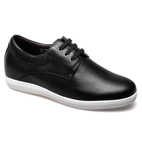 Soft cow leather increasing height men shoes #X8002