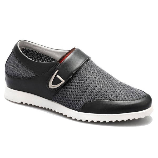 Men's Mesh Elevator Casual Height Increasing Shoes More Colors Available #DL227H12-2