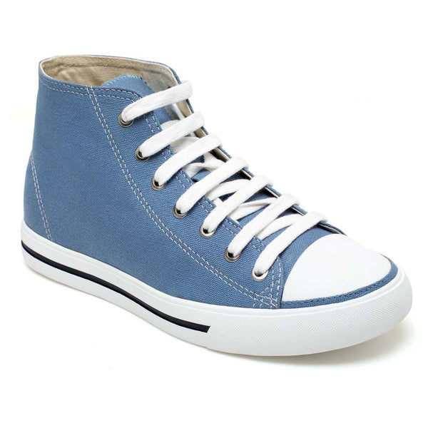 Elevator Sneaker Hightops Canvas Shoes For Boy #H52B08K012D
