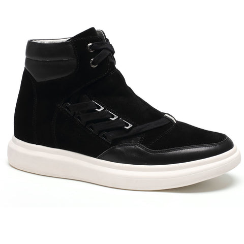 High Shoes For Mens Heel Lift Inserts Elevator Sneakers #H62B08K111D