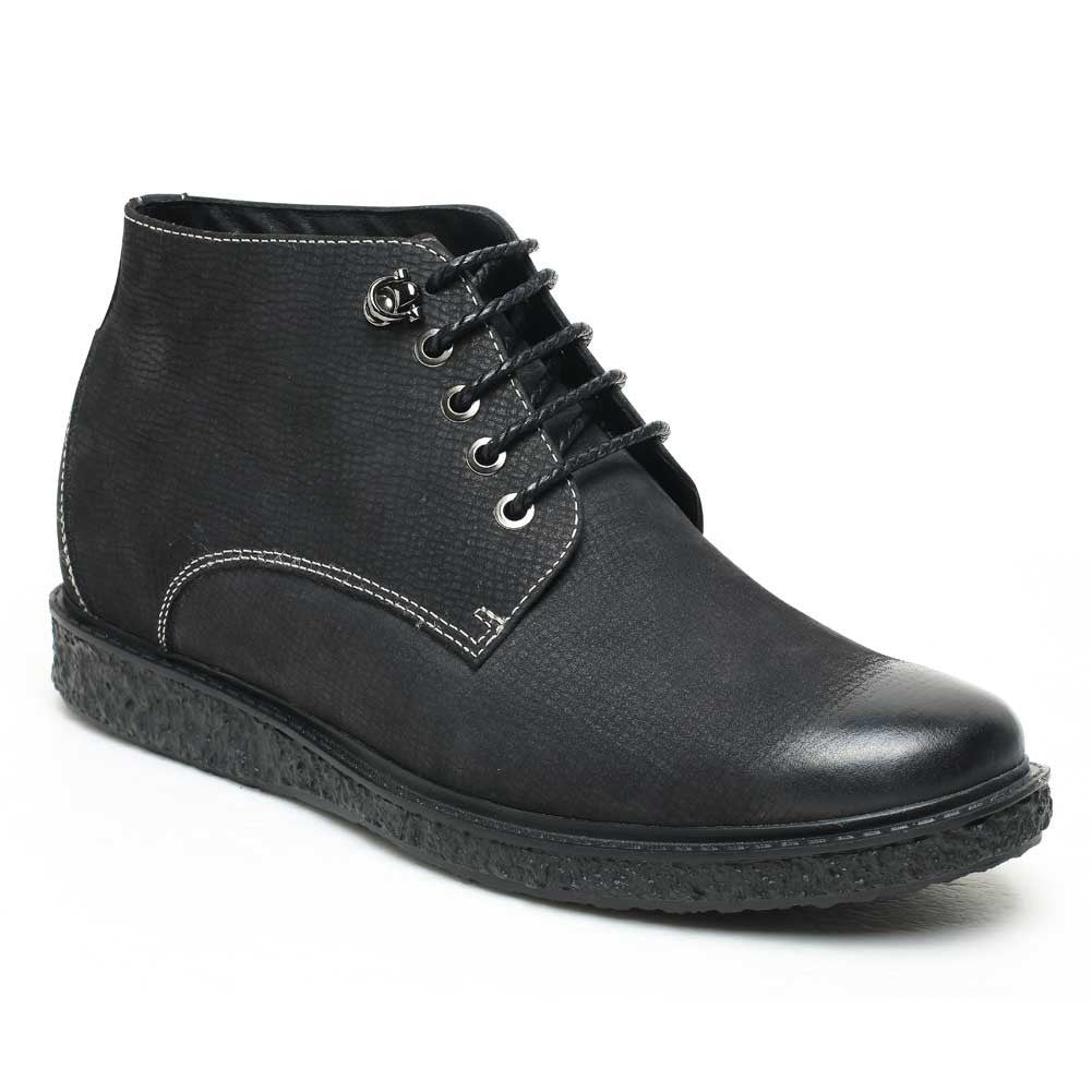Stylish Casual Height Increasing Boots For Men #H52B05K021D