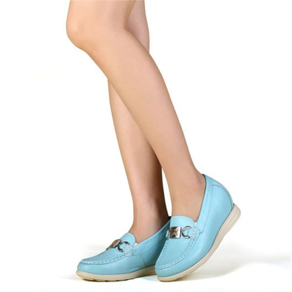 2015 spring/summer round toe hidden heel pumps for women #W90B02