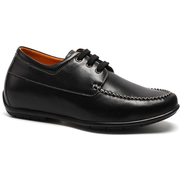 CHAMARIPA Height Shoes Leather Oxford Flats Shoes