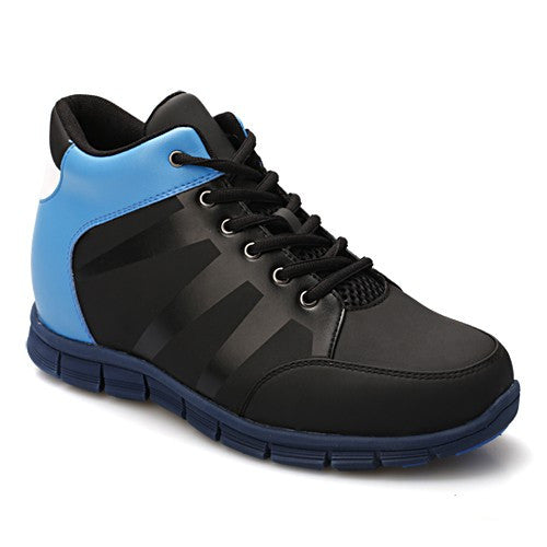 Sport Style Men Increasing Height 9CM/3.54Inch Basketball Elevator Shoes #329K02