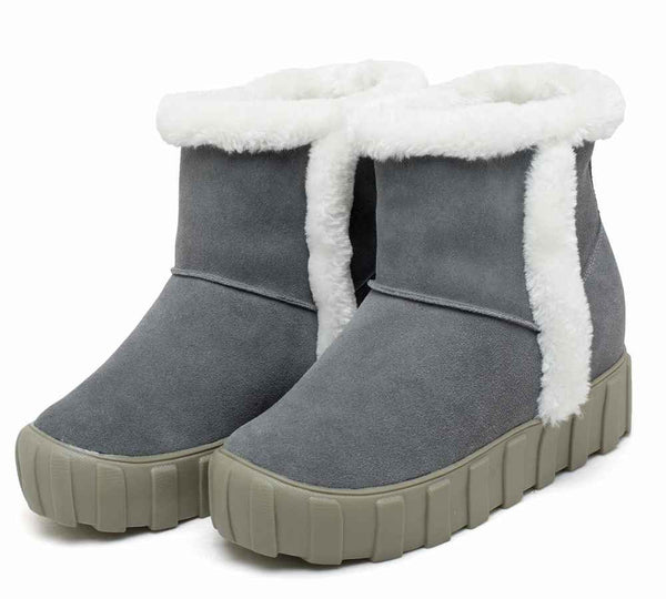 Women Snow Height Increase Elevator Boot For Girl #W52B03N011F