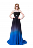 Ombre Real Made Charming Cheap Pretty Prom Dresses #S61