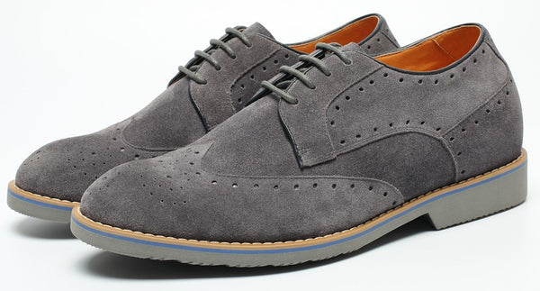Noble Casual Brogue Height Increasing Shoes For Men #L61C20K013D
