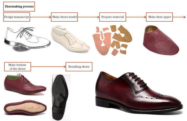 Customized Bespoke New Style Handmade Elevator Height Increasing Shoes