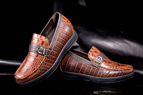 Stylish Customized Handmade Shoes Height Increasing Shoes #J226H22
