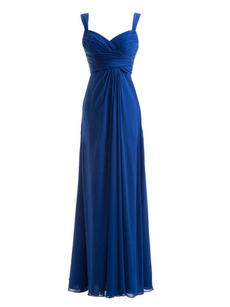 Floor-Length Chiffon Bridesmaid Dress #BN0015