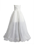 Women's High Low Country Bridesmaid Dress Party Wedding Gowns #HS0069