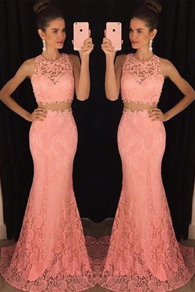 Elegant V-Neck Sleeveless crystal Prom Dresses 2019 Long chiffon Online #LF0097