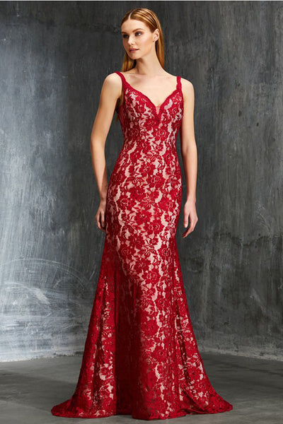 Stunning Dark Red Backless Off the Shoulder Mermaid Prom Dress Evening Formal Dresses LD1122
