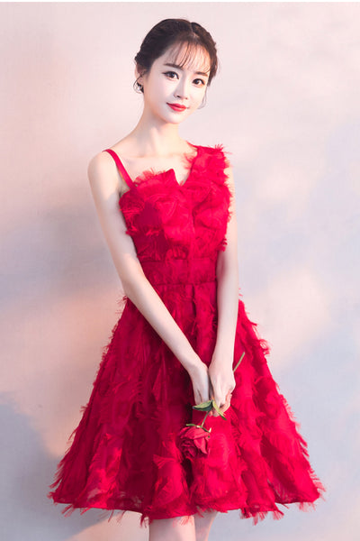 New Arrival Red Short Homecoming Dresses Prom Dress Party Gown Graduation Dress LD1223