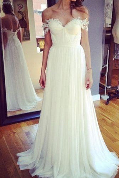 Hot Sales Drop Sleeves Lace Long Outside Bridal Wedding Dress LD154