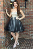 2018 New Arrival Sweetheart Lace Cute Dress Homecoming Dresses Short Prom Party Gowns LD511