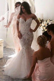 Hot Sales Ivory Lace High Quality Mermaid Wedding Dresses Bridal Dress Wedding Gown LD683