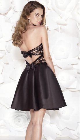 Lace Prom dresses Homecoming Dress Girl Dresses #B020