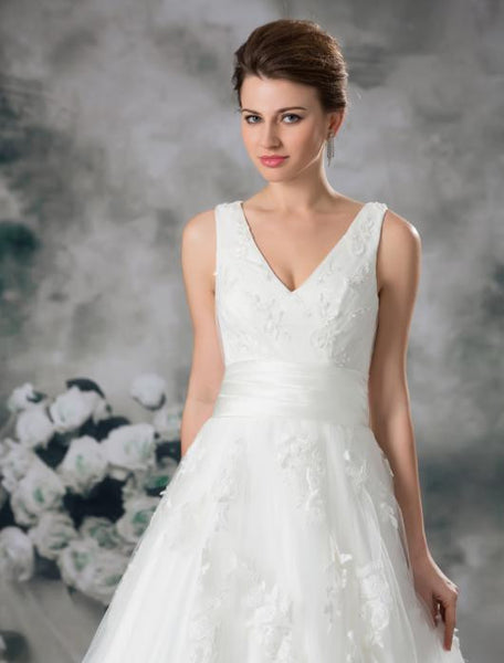 Custom Made Charming The Best Wedding Dresses #W02