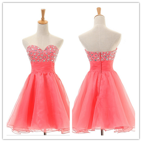 Tulle Homecoming Gowns #T016