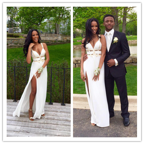 Sexy Real Made Prom Dresses Crazy Prom Dresses #L66