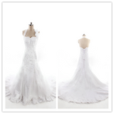 SPECIAL VALUE Oleg Cassini Strapless Ruffled Skirt Wedding Dress #HS0037