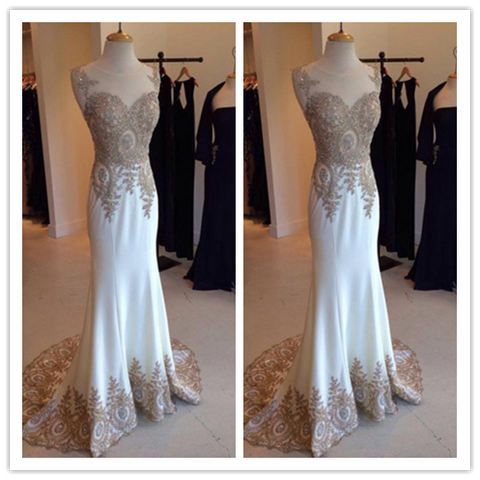 Custom Made Charming The Best Wedding Dresses #W01