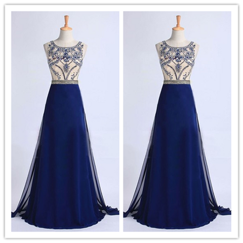 Charming Beading Real Made New Prom Dresses 2016 # S221