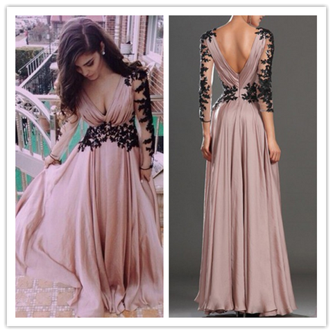 A-Line Real Made Charming Prom Dress #T226